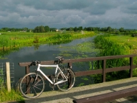 Cycling  1007271999 Zoetermeer. Heading for rainy weather. : Countries & Places, Cycling, The Netherlands, Zuid-Holland