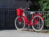 Cycling  1306231009 Weimar. Red. : Countries & Places, Cycling, Germany