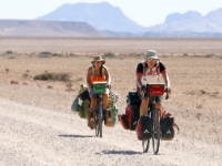 Cycling  1605171074A Namib-Naukluft Desert. Amazing; gravel, dust, heat, long distances. : Countries & Places, Cycling, Namibia, Traveling