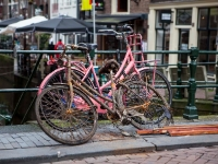 Cycling / Fietsen  1910151036 Oudezijds kolk, Amsterdam : Amsterdam, Countries & Places, Cycling, The Netherlands